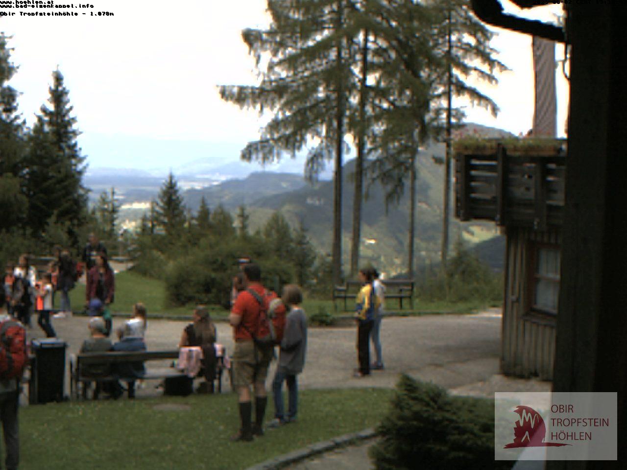 Webcam-Bild der Obir Tropfsteinhöhlen